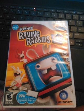 Raving Rabbids TV Party Wii game
