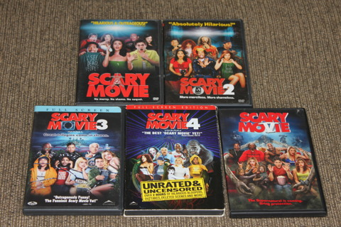 Free Scary Movie 1 2 3 4 5 Dvd Listia Com Auctions For Free Stuff