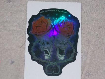 Totally awesome holographic sticker!