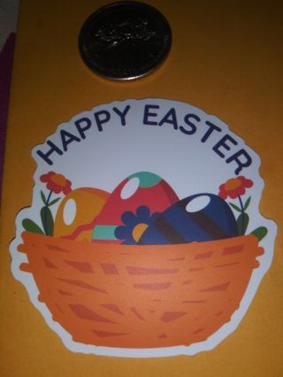 Easter cute Saying vinyl sticker no refunds regular mail very nice