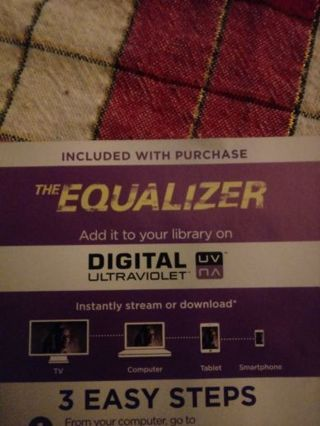 The Equalizer VUDU Code