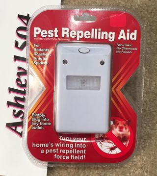 NEW European Electronic Plug In Pest Repelling Aid