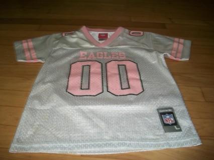 the best attitude fac32 0b87b Free: Cute Girls Philadelphia Eagles Jersey Pink White 6x ...