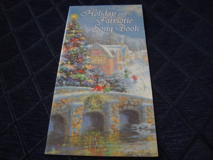 Holiday & Patriotic Song Book ~ Free Shipping