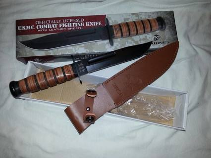 Officially Licensed U.S.M.C. Combat Fighting Knife