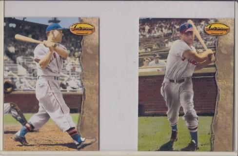 Free Delmer Ennis Mel Ott Baseball Cards 1994 Ted Williams Card