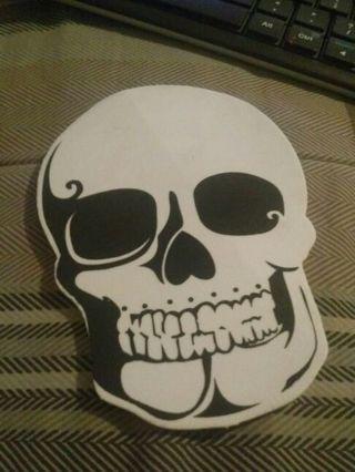 Skull foam patch