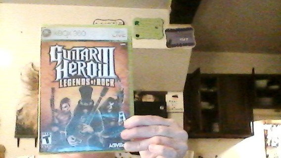 guitar hero 3 legends of rock used xbox 360 game read discription