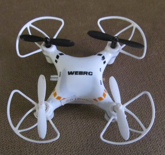 WEBRC Mini Drone - For Parts or Repair - Not Working