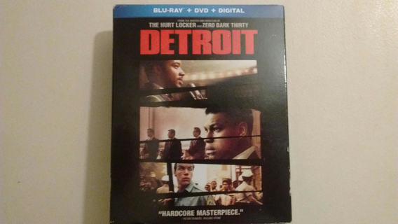 NEW DETROIT BLU-RAY + DVD + DIGITAL