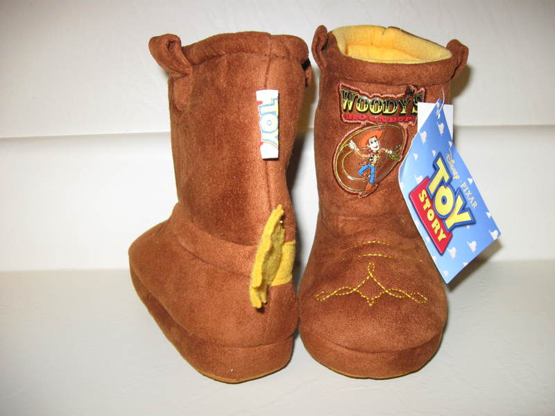 Toy Story Boots For Boys : Free disney toy story woody cowboy boots slippers house