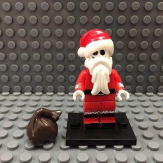 New Jack Skellington Santa Minifigure Building Toys Custom Lego