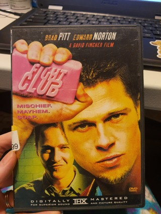 Your choice of 1 DVD movie! Fight Club, Ernest, Original Sin, Ray, The Fog