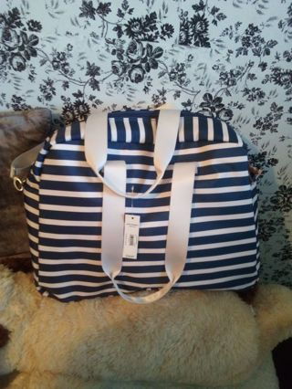❤️ Let's fill a huge beautiful striped bag with goodies! ❤️