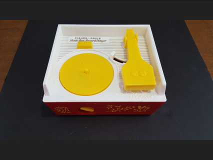 Fisher Price Music Box Record Player with 4 Disks! Great Condition!