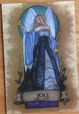 "ANGEL OF JOY - 3 x 4"" MAGNET"