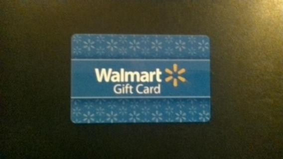 $5 WALMART CARD!!!!!