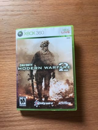 2 Xbox360 Call Of Duty Games