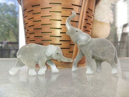 Two Vintage Elephants