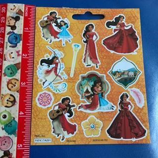 Elena of Avalor Disney Sticker Sheet #2 BRAND NEW