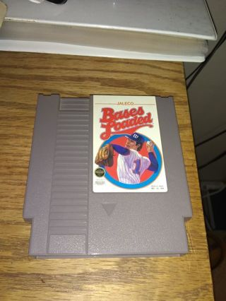 Jaleco Bases Loaded NES Nintendo First Class Shipping with tracking