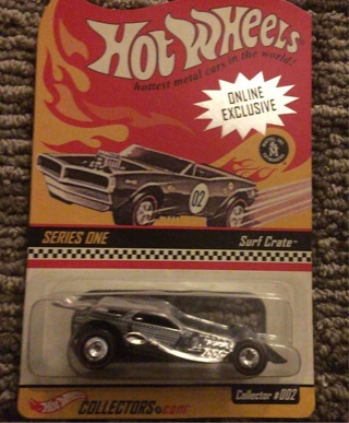 Surf Crate Hot Wheels Series One RLC