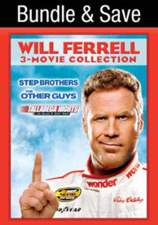 Will Farrell 3-Movie Collection- The Other Guys/Stepbrothers/Talladega Nights- UV Code Only- No Disc