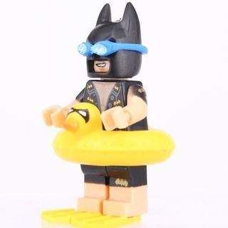 New Vacation Batman Minifigure Building Toy Custom Lego