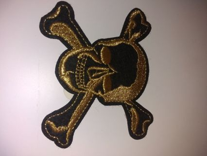 New Skull and Crossbones Patch