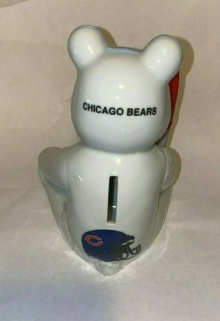 Neat Chicago Bears Ceramic Bank / pen holder