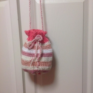 Hand Crochet Bag/Pouch with