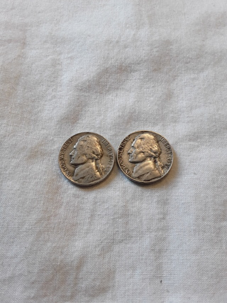 2 older nickels 1948-D & 1959-D Winner Gets Both (#S)