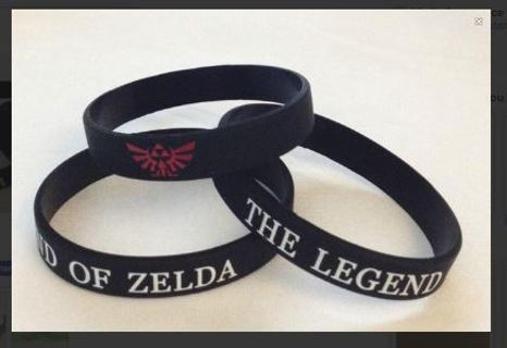 1 LEGEND OF ZELDA Video Game Theme wristband bracelet NINTENDO