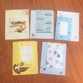 5 Kawaii Letter Sets 2