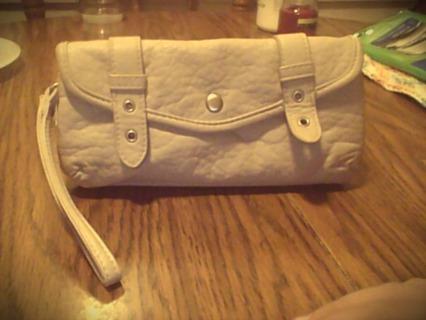 aeropostle leather wallet (womens)
