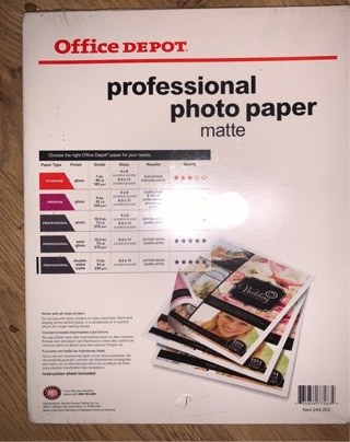 Office Depot Professional Photo Paper