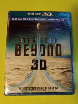 Star Trek: Beyond - 3D BluRay + BluRay + DVD + Digital Copy