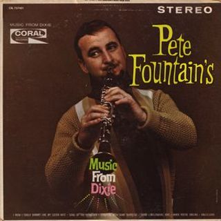 Pete Fountain– Pete Fountain's Music From Dixie LP