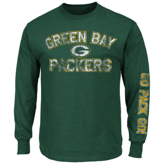 NWT Green Bay Packers NFL T-Shirt Long Sleeve Men's size Large or XL