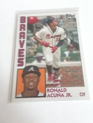 RONALD ACUNA JR TOPPS 35th ANNIVERSARY