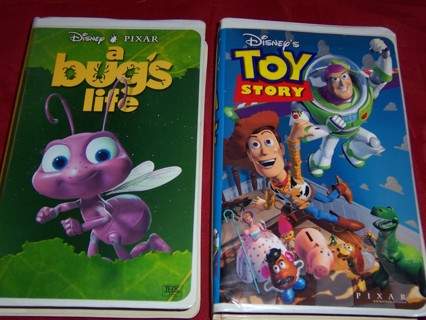 Free Disney S A Bug S Life Toy Story On Vhs Vhs Listia Com Auctions For Free Stuff