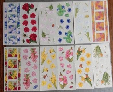 Creative Memories spring Scrapbook quality stickers