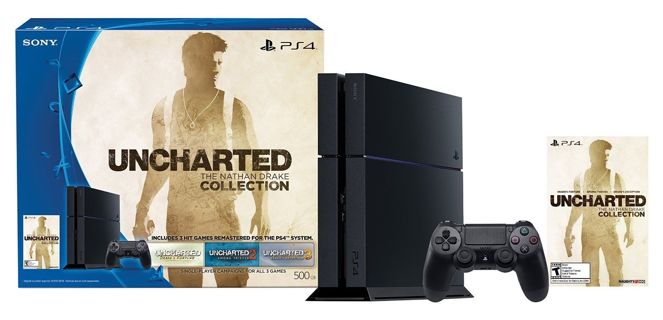 ~PlayStation 4 500GB Sony! Uncharted! Nathan Drake Collection PS4~Bundle! BRAND NEW!