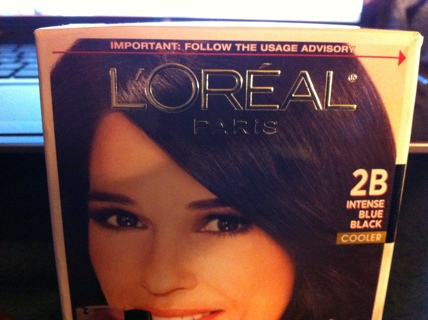 loreal hair dye instructions