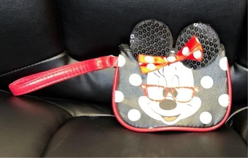 Disney Minnie Mouse Wristlet