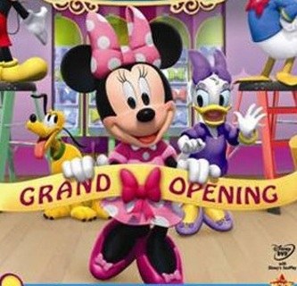 For Innotab, 2 or 2s: The Opening Of Minnie Mouse Bow-tique Cartoon/Short Movie