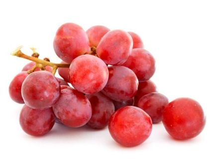 5 red grapes seeds