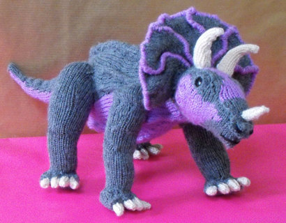 Free Dinosaur Knitting Pattern Only Gin Dolls Stuffed Animals