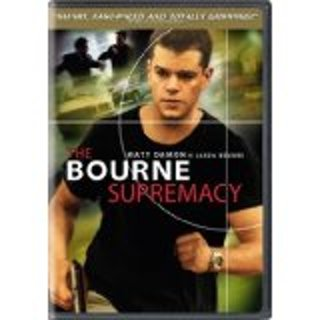 The Bourne Supremacy dvd widescreen