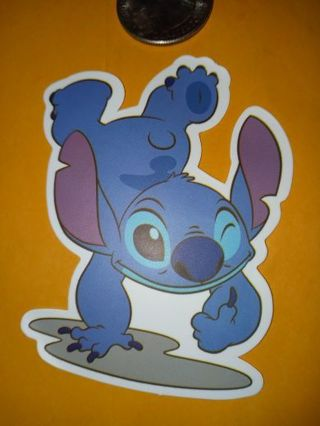 Stitch big Cool new vinyl lab top sticker no refunds regular mail only not relisting
